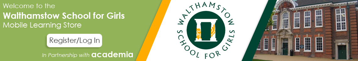 Welcome to the Walthamstow School for Girls Mobile Learning Portal